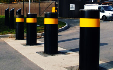 Red Border -:- Automatic gates barriers Supplier in Abu