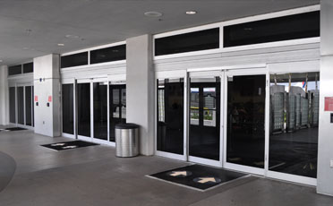 Red Border -:- Automatic gates barriers Supplier in Abu Dhabi